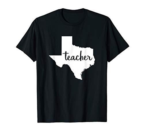 Texas Teacher Home State Teacher School Teacher Life Shirt -