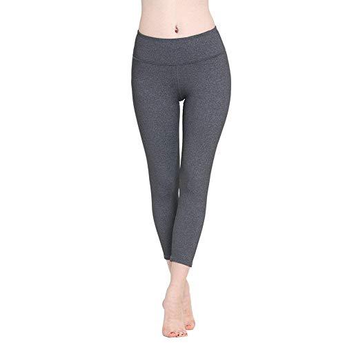 De Alto Para Siete Haidean Talle Leggings Medias Lápiz Modernas Grey Yoga Deportivos Pantalones Casual Elástico Mujer Puntos rqIFqP