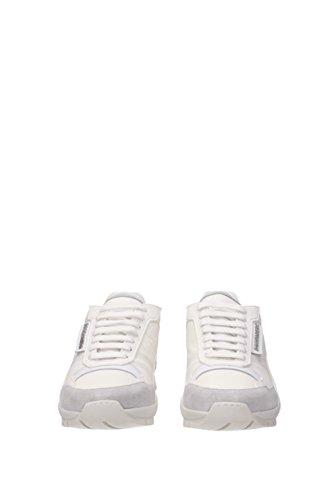 Stoff SN4371176 EU Weiß kit Sneakers Dsquared2 Herren ZqxwIgq0nt