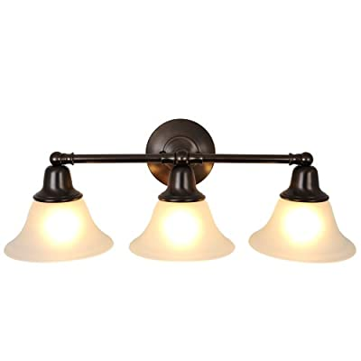 Monument 617291 Sonoma Oil Rubbed Bronze Vanity Fixture, 24-1/2 In.