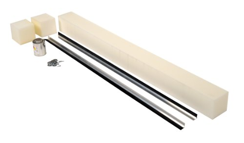 Vestil WS-10-RB-1 1'' Replaceable Brush Weather Stripping for Pit Mounted Dockleveler, 110'' Pit Length, 102'' Strip Length by Vestil