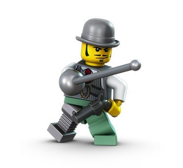 Lego Monster Fighters Dr. Rodney Rathbone Minifigure