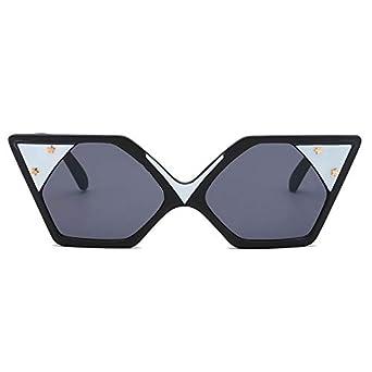 HCFKJ Moda Hombre Mujer Retro Forma Gafas Gafas De Sol ...