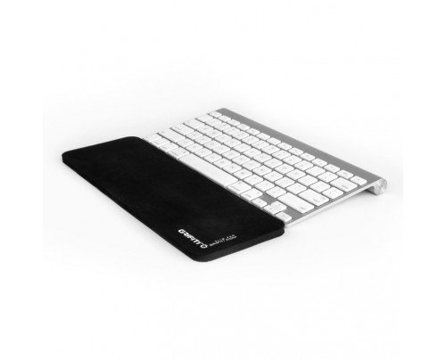 Mouse Solidtek Keyboard (GRIFITI Slim Wrist Pad 12 for 12 Inch Wireless Slim Keyboards Black Nylon Surface)