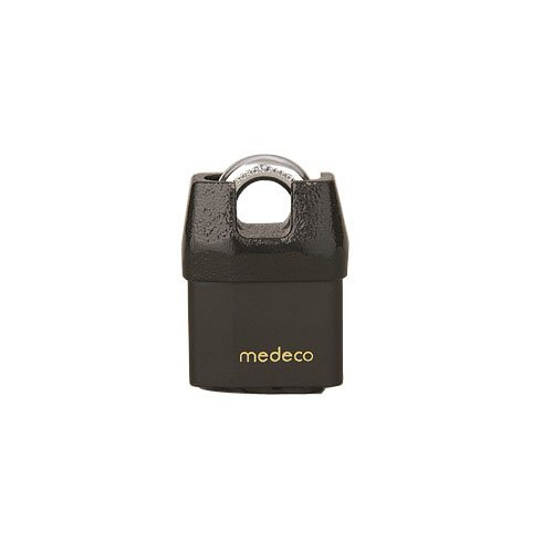 Medeco M3 5/16' Shrouded Boron Padlock, 3/4'' Shackle...
