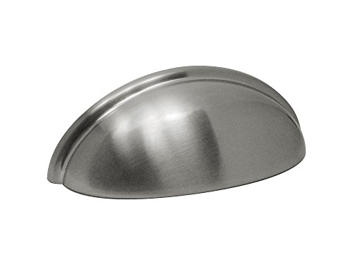 Half Moon Pull (Silverline B2019 Cabinet Hardware Cup Pull Bin CC: 3