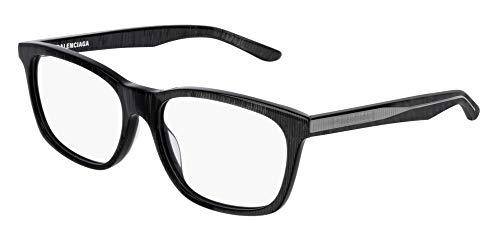 Balenciaga BB0028O Eyeglasses 003 Grey-Grey 55mm