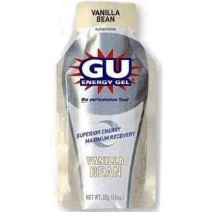 GU Sports Energy Gel - Box of 6 (Vanilla Bean)