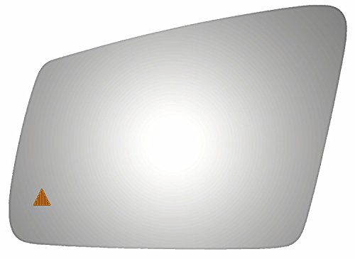 2014-2014 MERCEDES-BENZ CLA250 Flat Driver with Blind Spot Warning Indicator Side Mirror Replacement Glass