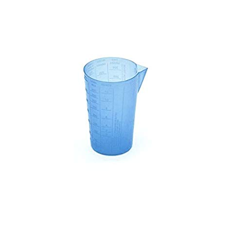 TAG3 ® Professional Plastic Measure Cup Glass for Kitchen Cooking Baking & Measuring Solids and Liquids | 350 ml | 2 1/2 Cups – Blue Price & Reviews
