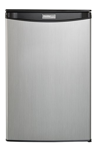 Danby DAR044A5BSLDD Compact Refrigerator, Spotless Steel Door, 4.4 Cubic Feet by Danby (Image #1)