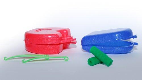 dental-orthodontic-invisalign-aligner-patient-kits-1-sparkle-pink-retainer-case-1-sparkle-blue-mini-