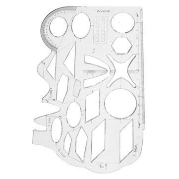 Unknown Mapping Drawing Tool Trade Animation Eraser Geometric Template Stationery