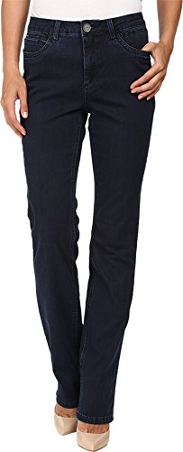 FDJ French Dressing Jeans Women's Supreme Denim Olivia Straight Leg in Pleasant Pleasant Jeans
