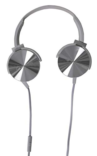 Alpino Downtown Headset Headphone Over The Ear (Silver)