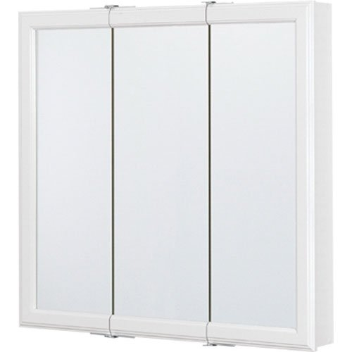 "Rsi Home Products Cbt30-Wh-B Triview Medicine Cabinet, 30"", White"