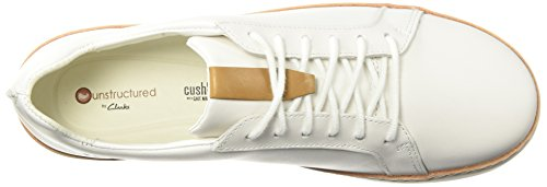 Rosa Leather Amberlee Shoes White Women's Clarks qv8BxR8