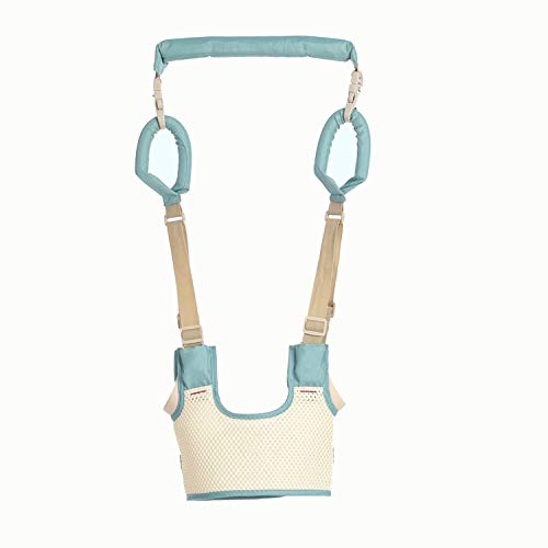 AIBAB Respirable Tipo De Cesta Cinturon De Bebe Chaleco Aprendiendo A Caminar Prevención De Pérdidas Uso Dual Asistente De...