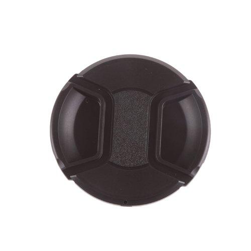 Fovitec - 1x 52mm Lens Cap for Nikon DSLR Lenses - [OEM Quality][Hardened ABS Plastic][Pinch Snap] ()