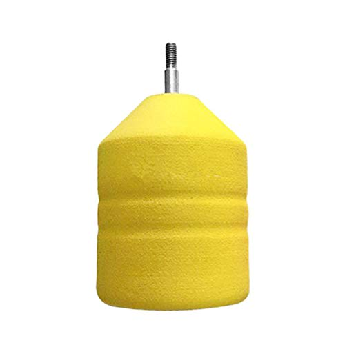 e5e10 Soft Foam Arrowheads Yellow Diameter 2