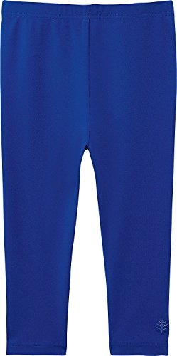 Coolibar UPF 50+ Baby Swim Tights - Sun Protective (18-24 Months - Blue Wave)