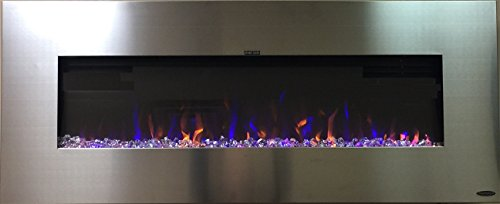 stainless fireplace - 5