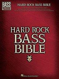 Hal Leonard Hard Rock Bible Bass Guitar Tab Songbook