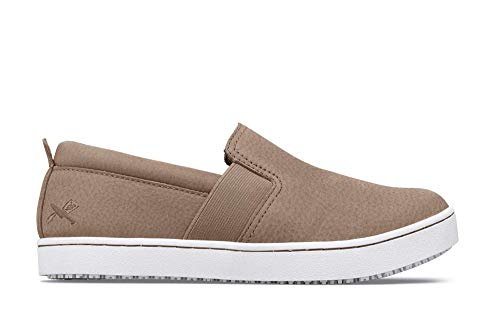 Trainers Crews Resistant Taupe For Kai Slip Shoes Women's Tqa0S