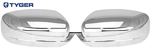 Tyger Auto ABS Triple Chrome Plated A Pair Mirror Covers Fits 11-13 Dodge Charger//11-13 Chrysler 200//300 Full Cover