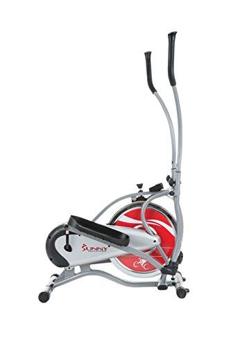 Sunny Health & Fitness SF E1405 Flywheel Elliptical Trainer, Gray
