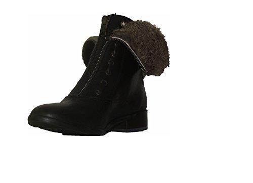 LOULICE Chaussures Mode Fermeture Fourrure Fourrure Fourrure Plates BOTILLONS c4fe95