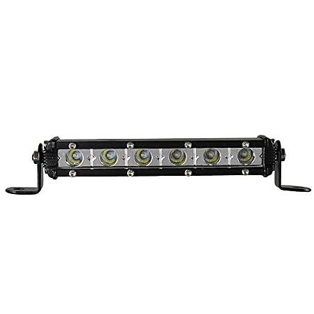 BIGSEASON Barra luminosa a LED singola fila da 38 pollici a 180 W fascio di luci a fascio largo inondazione che guida il veicolo fuoristrada SUV 4X4 ATV