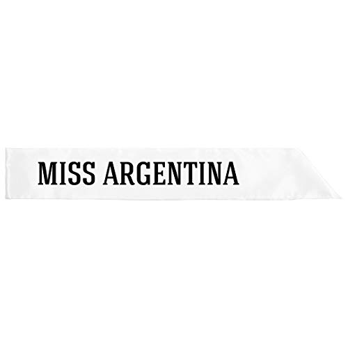Miss Argentina Costume: Adult Satin Party