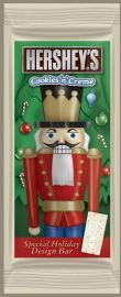 Hershey's Holiday Cookies 'n' Creme Nutcracker Bar, 3.5-Ounce Bars (Pack of 3)
