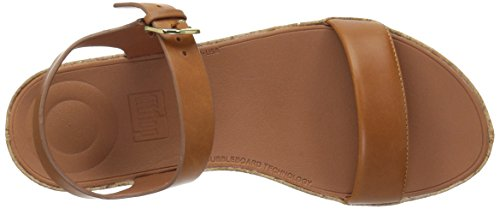 FitFlop Women's Bon II Back-Strap Sandals Medical Professional Shoe, Caramel, 9 M US by FitFlop (Image #8)