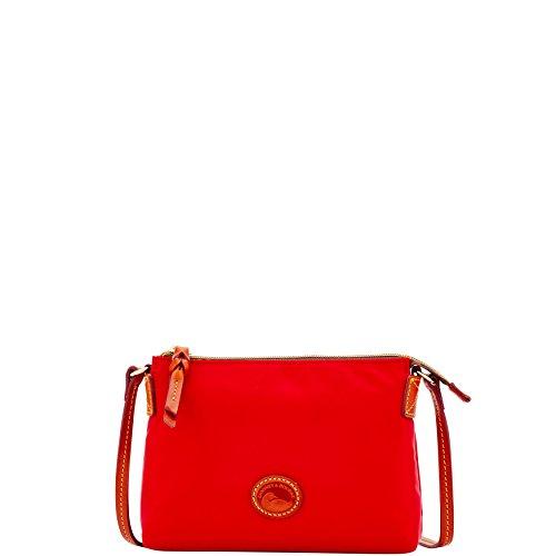 Bag Crossbody Dooney Nylon Red Pouchette Bourke Shoulder amp; OqP6xw1PY