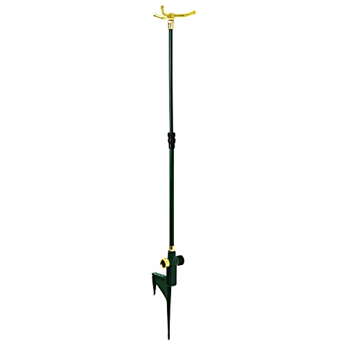 Cheap Melnor Metal Revolving Sprinkler; 16″-40″ Telescoping Rotary with Step-Spike