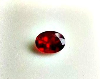 Deep Red Andesine Var. Labradorite Oval Cut Facet. Eye Clean Clarity. Wire Wrapping and Jewelry Material (Labradorite Red Andesine)