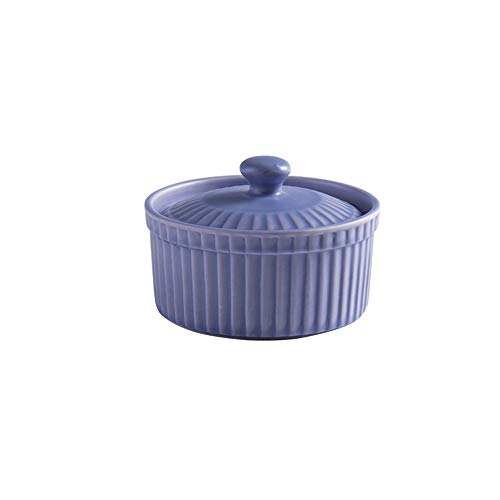 - Mary Paxton Ceramic Covered Baking Bowl,3.5