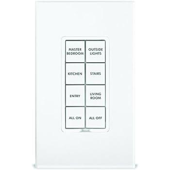 Insteon 2401BT50 Popular 50-Button Set for KeypadLinc, White