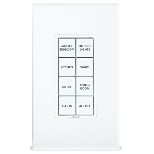 Insteon 2401BT50 NST2401BT50 50-Button Replacement Kit Keypads, White