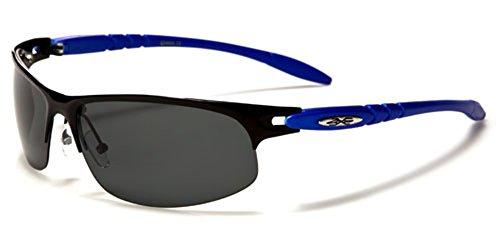 Polarized Half Frame Men's Wrap Around Fishing Golf Driving Sports - Sunglasses Polarised Xloop