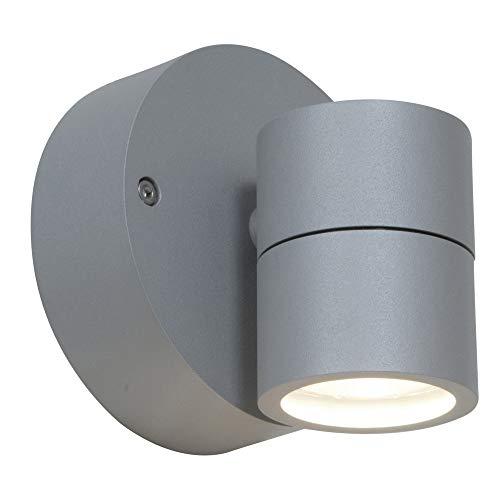 Access Lighting 20350LEDMG-SAT/CLR Marine Grade Wet Location LED Spotlight