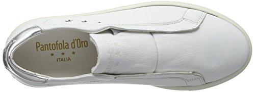 casa Zapatillas Pantofola On Slip White Low Carla de Blanco Bright Mujer d'Oro Donne UrUA1q8w