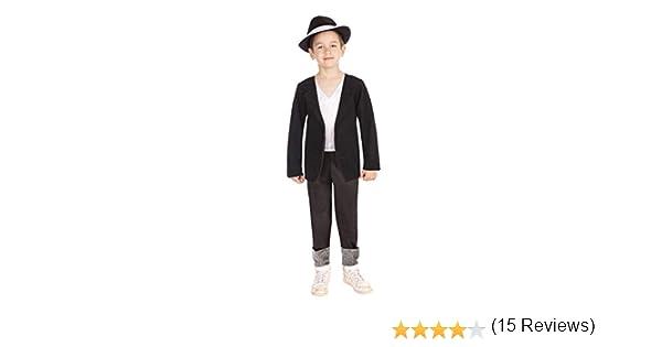 Bristol Novelties - Disfraz de años 80s retro para niño, talla 3-4 ...