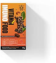 Barra de Castanhas e Cacau, Vitamin Imuno Food, Pack com 2 Unidades 25g