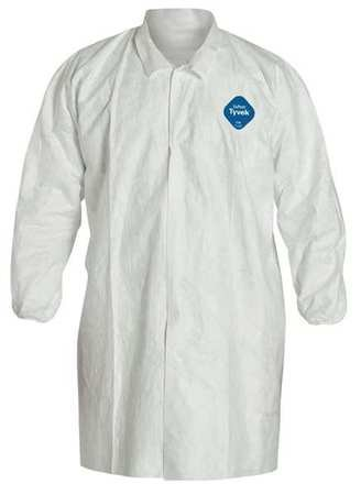 - Dupont White Tyvek 400 Disposable Lab Coat, Size: 3XL 3XL White Tyvek(R) 400 TY211SWH3X003000-1 Each