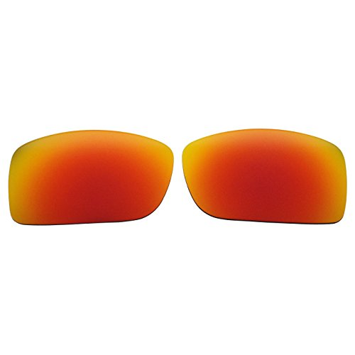 COODY Replacement Polarized Lenses for Spy Optic Oasis Sunglasses (Fire Red ()
