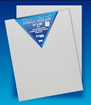 Flipside 40600 - Three-Sixteenths White Foam Board - 40 X 60 - Case Of 25
