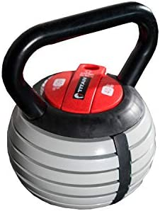 Amazon.com: Titan Fitness Kettlebell Weight Lifting Equipment, Adjustable for Your Own Personal Workouts: Home Improvement